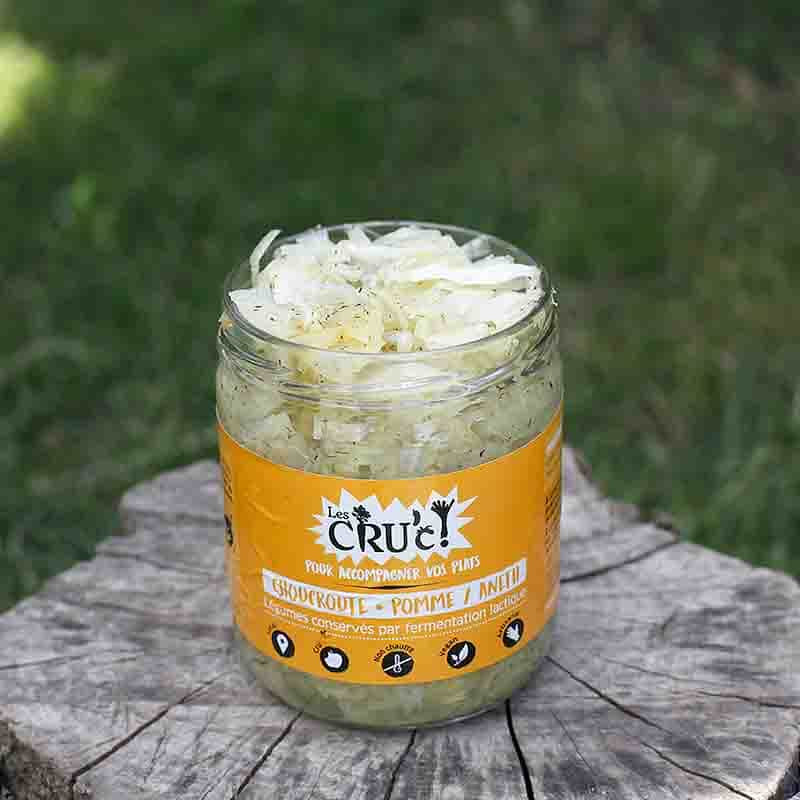 CHOUCROUTE POMME ANETH 445ML
